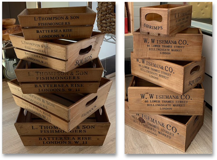 Island Cheese Company Crates